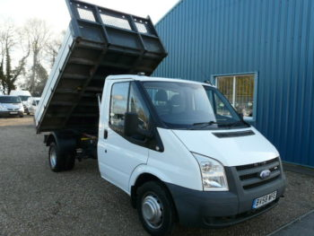 Ford Transit T350 Factory Fitted Alloy Tipper