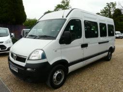 Vauxhall Movano Cdti 120 BHP 17ST Mini Bus